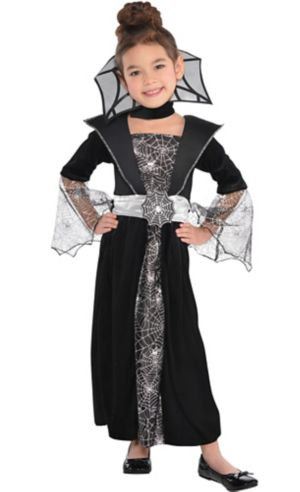 Little Girls Dark Countess Costume