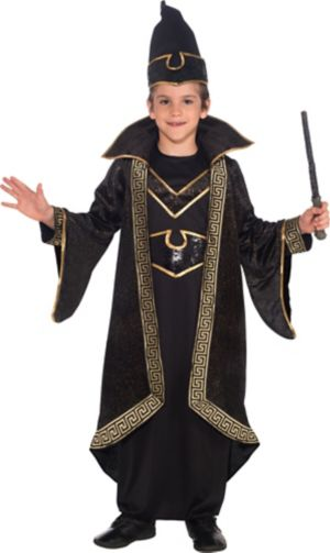 Boys Wizard Costume Deluxe Party City