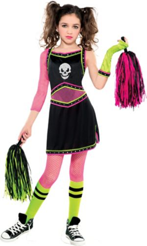 Girls Mean Spirit Cheerleader Costume