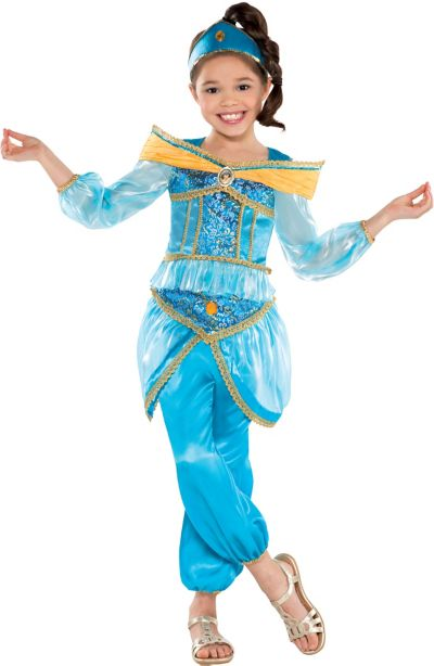 Girls Jasmine Costume