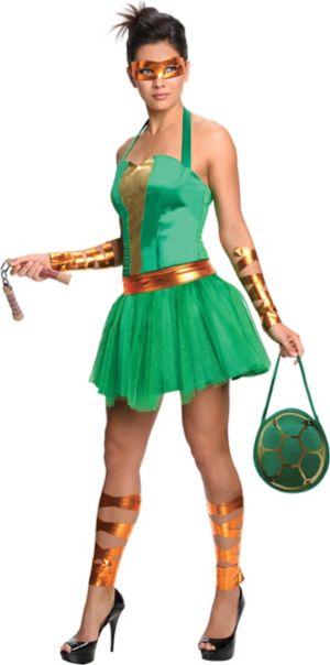 Adult Sassy Michelangelo Costume - Teenage Mutant Ninja Turtles