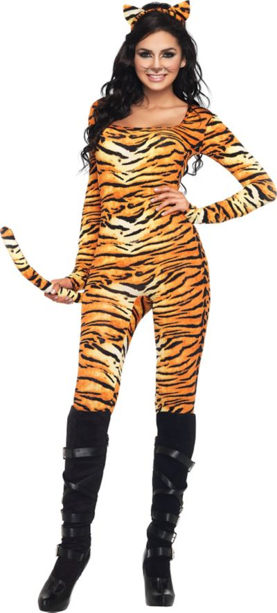 Adult Wild Tigress Costume