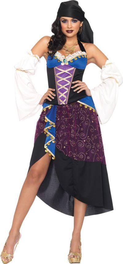 Adult Tarot Card Gypsy Costume
