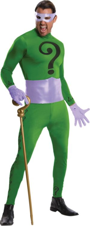 Adult The Riddler Costume Grand Heritage - Batman