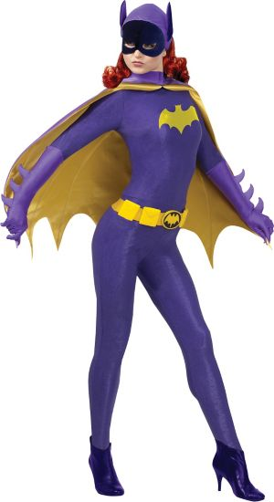 Adult Batgirl Costume Grand Heritage - Batman