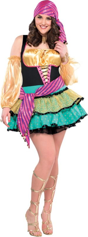 Adult Mystical Gypsy Costume Plus Size