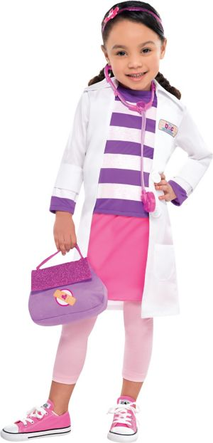 Toddler Girls Doc McStuffins Costume
