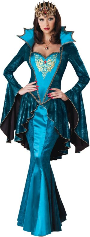 Adult Medieval Queen Costume Deluxe