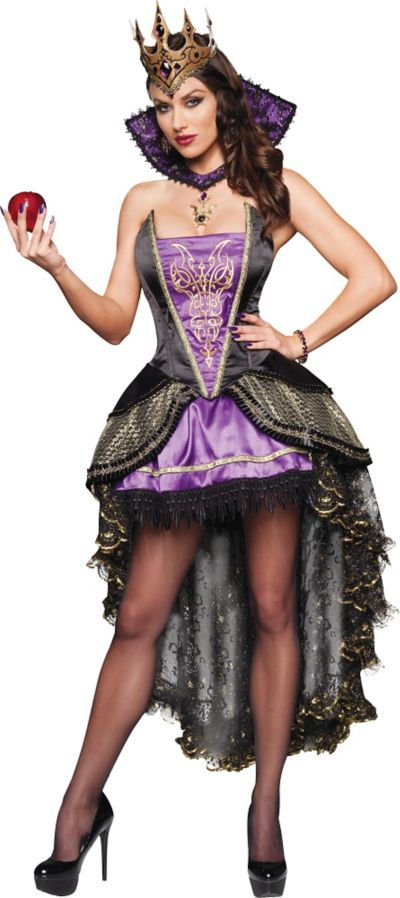 Adult Evil Queen Costume Deluxe