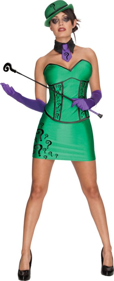 Adult DC Super-Villain The Riddler Costume - Batman