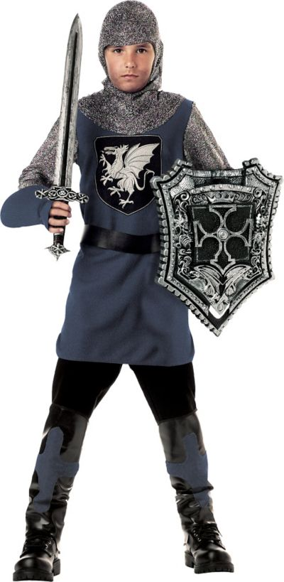 Boys Valiant Knight Costume