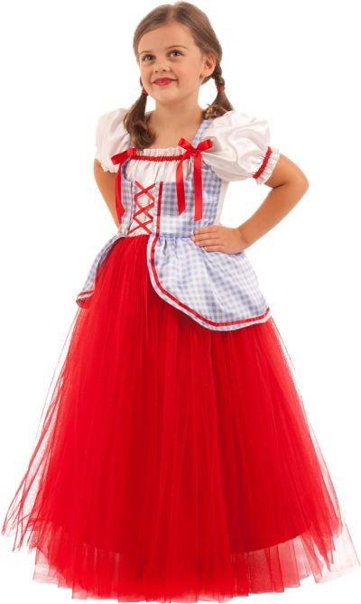 Girls Princess Dot Costume