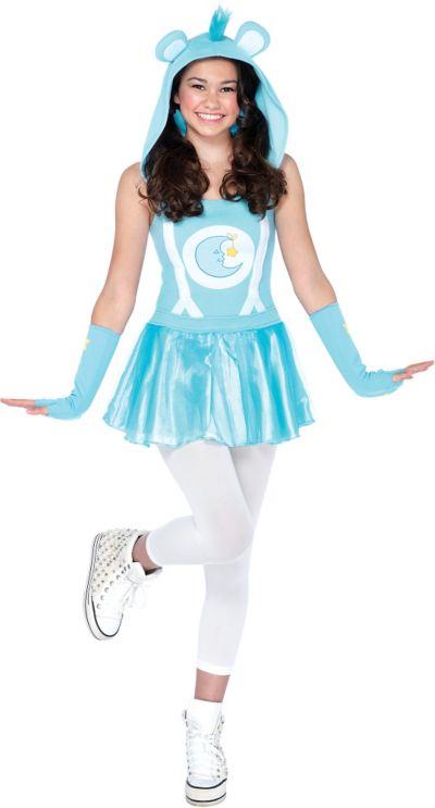 Teen Girls Bedtime Bear Costume - Care Bears
