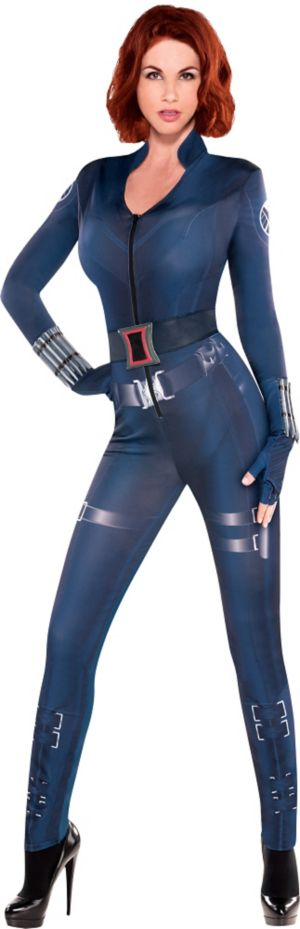 Adult Black Widow Costume - Captain America 2