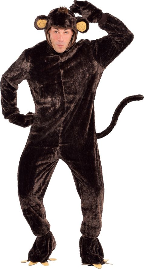Animals Costumes Adults Adult Monkey Business Costume