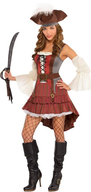 Adult Castaway Pirate Costume