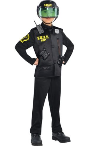 Boys SWAT Cop Costume