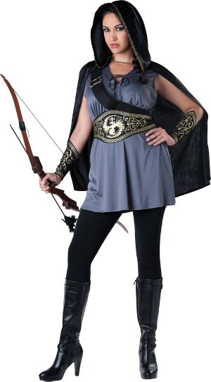 Adult Huntress Costume Plus Size