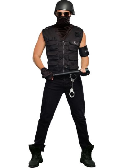 Adult Special Ops SWAT Costume