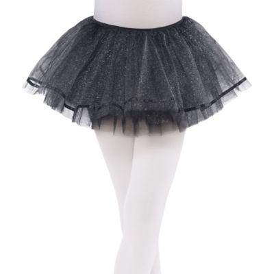 Child Shimmer Black Tutu