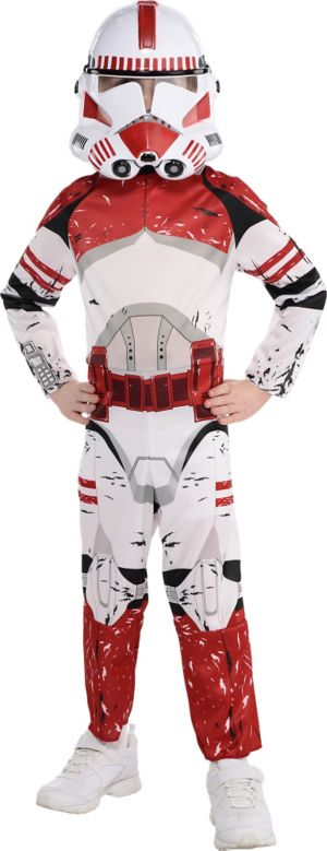Little Boys Shock Trooper Costume - Star Wars