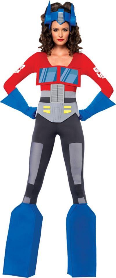 Adult Sassy Optimus Prime Costume - Transformers