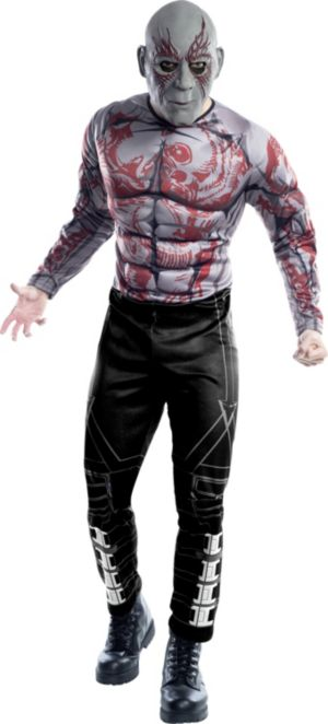 Adult Drax the Destroyer Muscle Costume - Guardians of the Galaxy