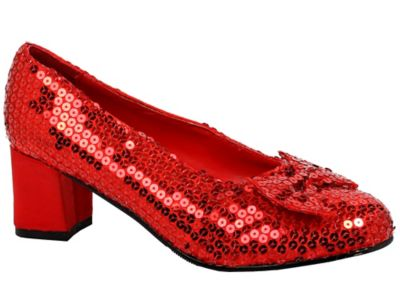 Adult Sequin Dorothy Shoes