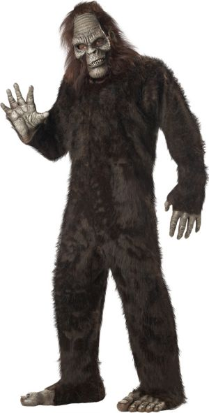 Adult Bigfoot Costume Plus Size