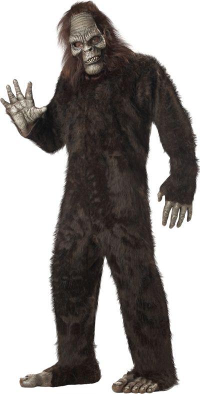 Adult Bigfoot Costume Plus Size