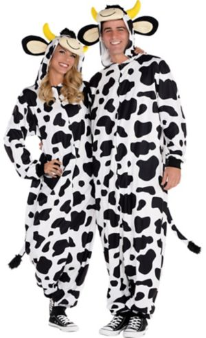 Zipster Cow One Piece Costume