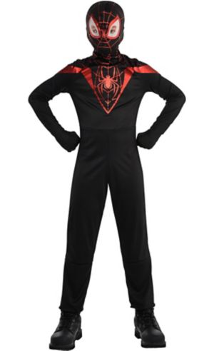 Boys Miles Morales Costume - Spider-Man