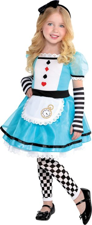 Toddler Girls Wonderful Alice Costume