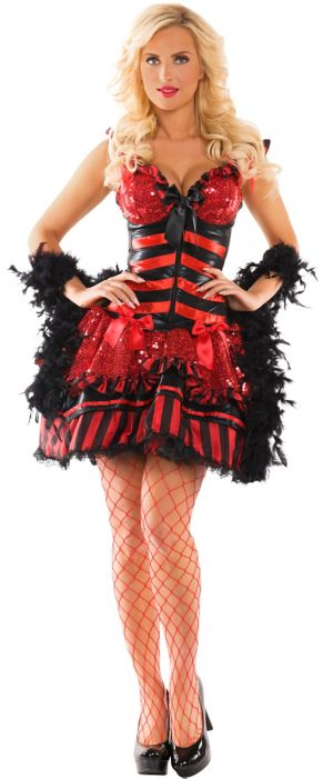 Adult Burlesque Babe Body Shaper Costume