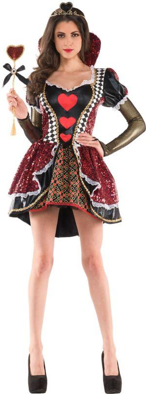 Adult Heartless Queen Costume