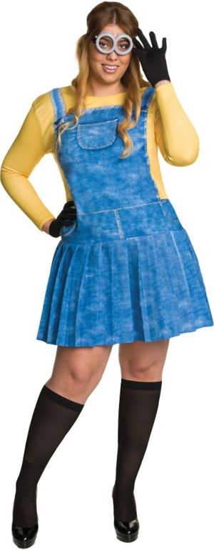 Adult Minion Costume Plus Size - Minions