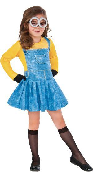 Minions Movie Girls Minion Costume- Party City