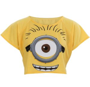 Minion Crop Top - Minions Movie