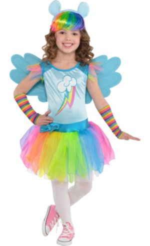 Toddler Girls Rainbow Dash Costume - My Little Pony