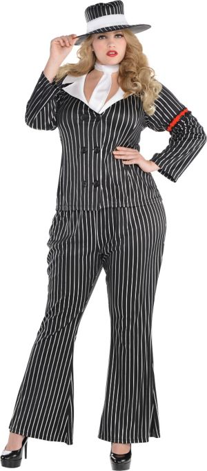 Adult Mob Wife Costume Plus Size