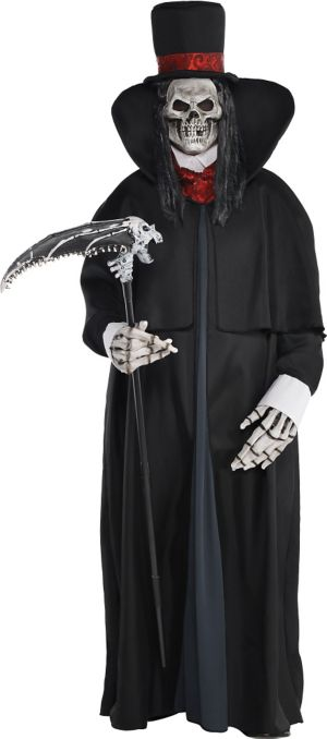 Adult Dapper Death Costume Plus Size