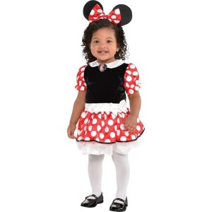 Baby Red Dress Minnie Mouse Costume