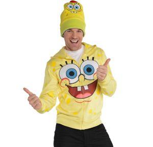 SpongeBob Zip-Up Hoodie - SpongeBob SquarePants