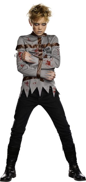 Boys Straight Jacket Costume