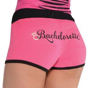 Pink Bachelorette Boyshorts - Sassy Bride