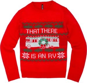 RV Ugly Christmas Sweater - National Lampoon's Christmas Vacation