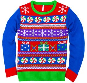 Funky Fair Isle Ugly Christmas Sweater