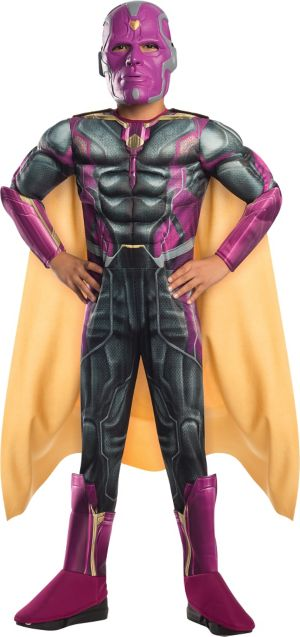 Boys Vision Costume Deluxe - Avengers: Age of Ultron