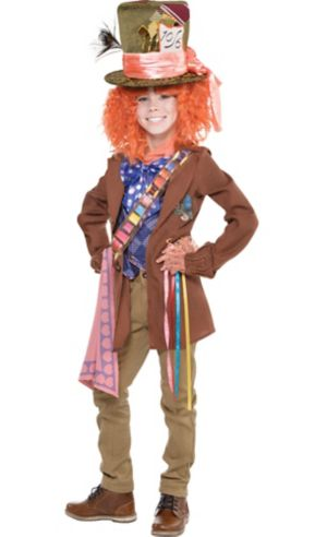 Boys Mad Hatter Costume - Alice Through the Looking Glass