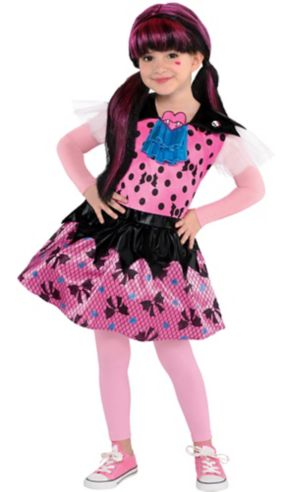 Little Girls Draculaura Costume - Monster High